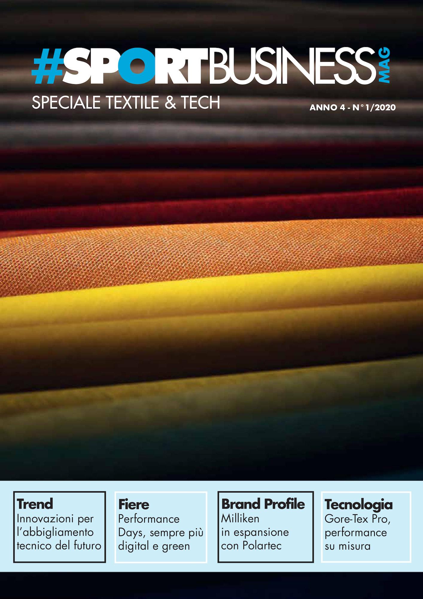 SportBusiness Mag 1_2020 – Speciale Textile & Tech
